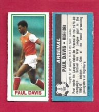 Arsenal Paul Davis 9